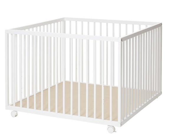 Baby Dan - Comfort Playpen 99x99x73 cm - White