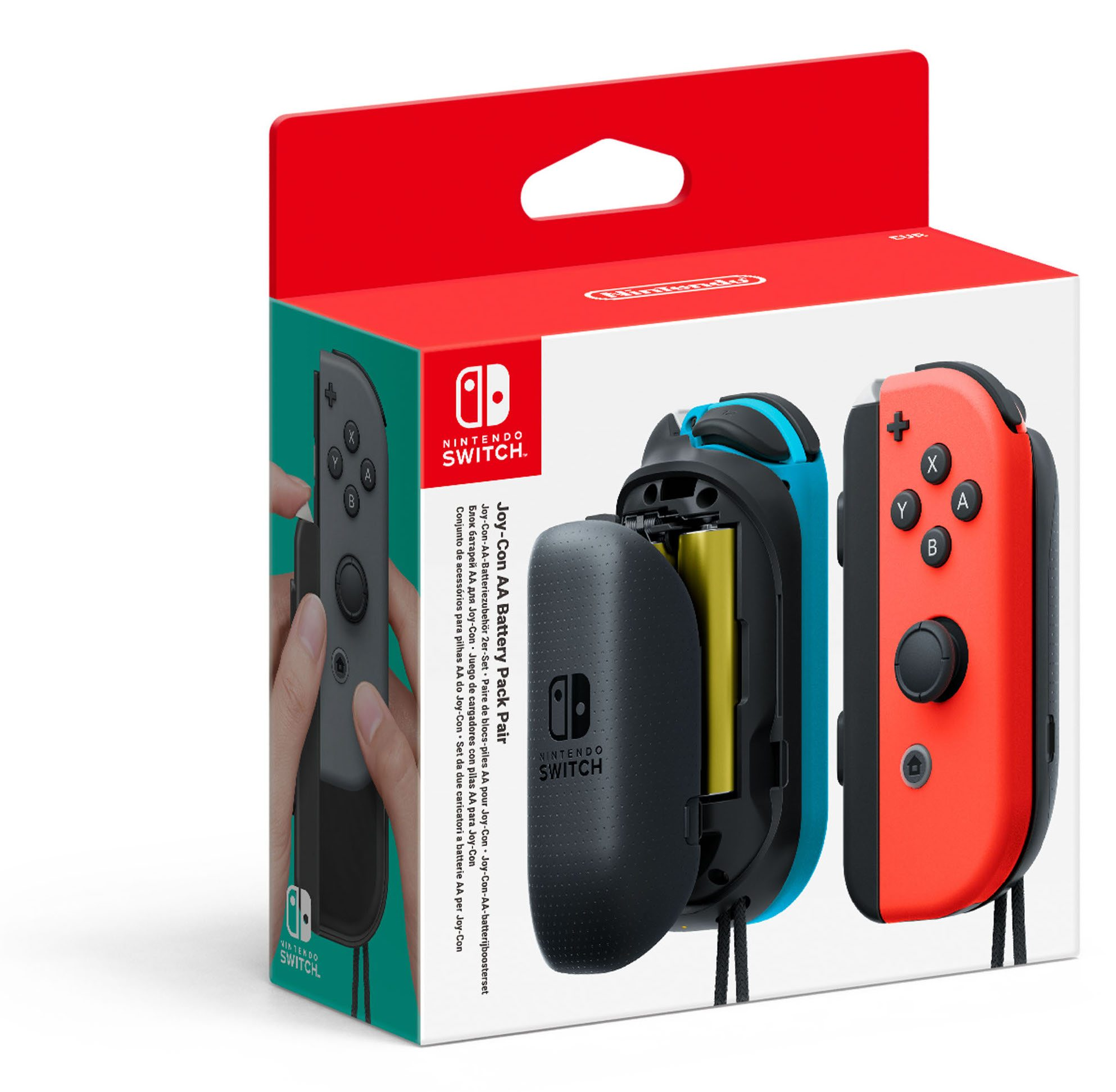 Joy-Con AA Battery Pack Pair
