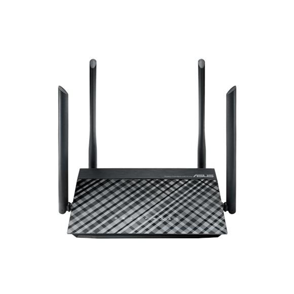 ASUS - RT-AC1200G+ Ethernet LAN Black