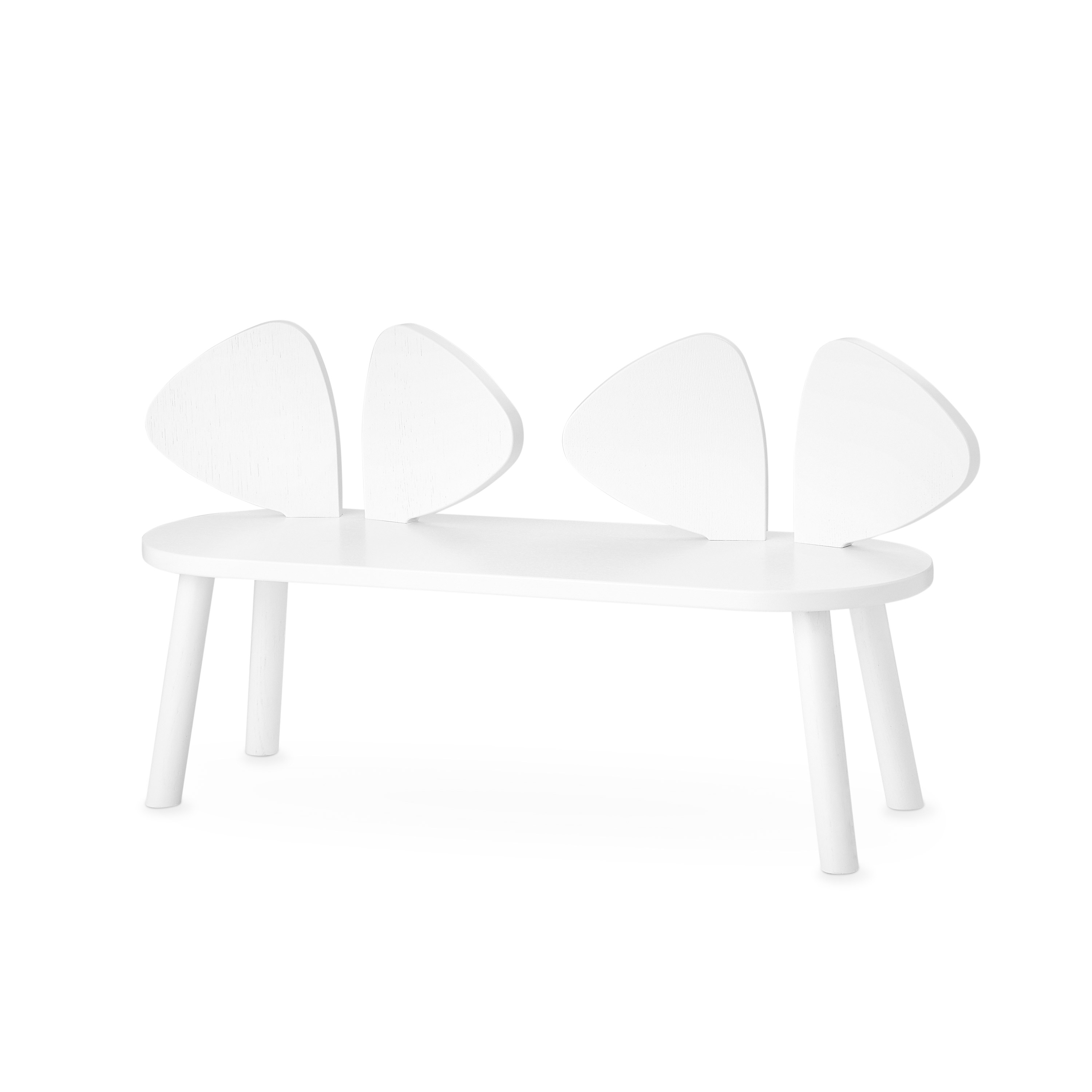 Nofred - Mouse Bench - White