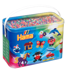 HAMA Beads - Midi - Solid Mix - 30.000 pcs (208-00)