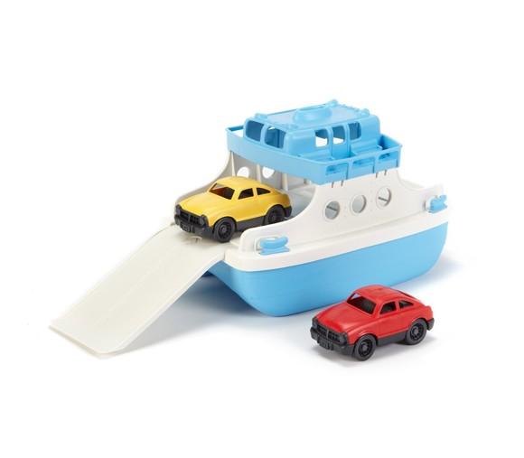 Green Toys - Færge med 2 biler