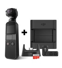 DJI - Osmo Pocket Camera + Expansion kit Bundle