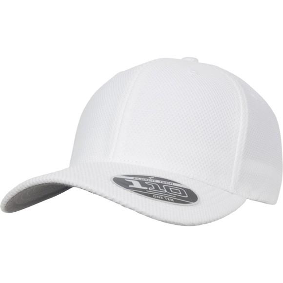 Flexfit Tech 110 Hybrid Cap - white
