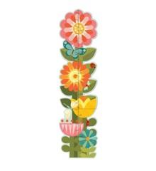 Petit Collage - Højdemåler - Smukke blomster