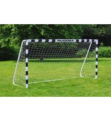 Hudora - Fodboldmål - 300 cm