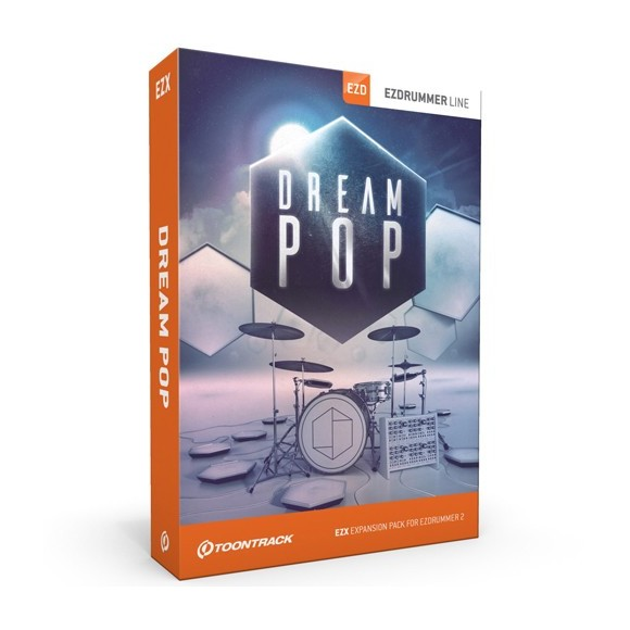 Toontrack - EZX Dream Pop - Expansion Pack For EZdrummer (DOWNLOAD)