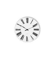 Arne Jacobsen - Romersk veggklokke Ø 16 cm