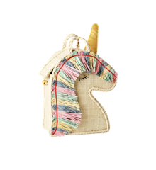 ​Rice - Raffia Kids Bag in Unicorn Shape