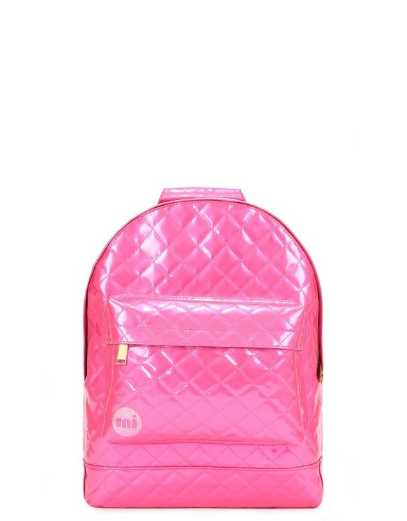 Mi-Pac - Mini Backpack - Patent Quilt - Pink (740416-S66)