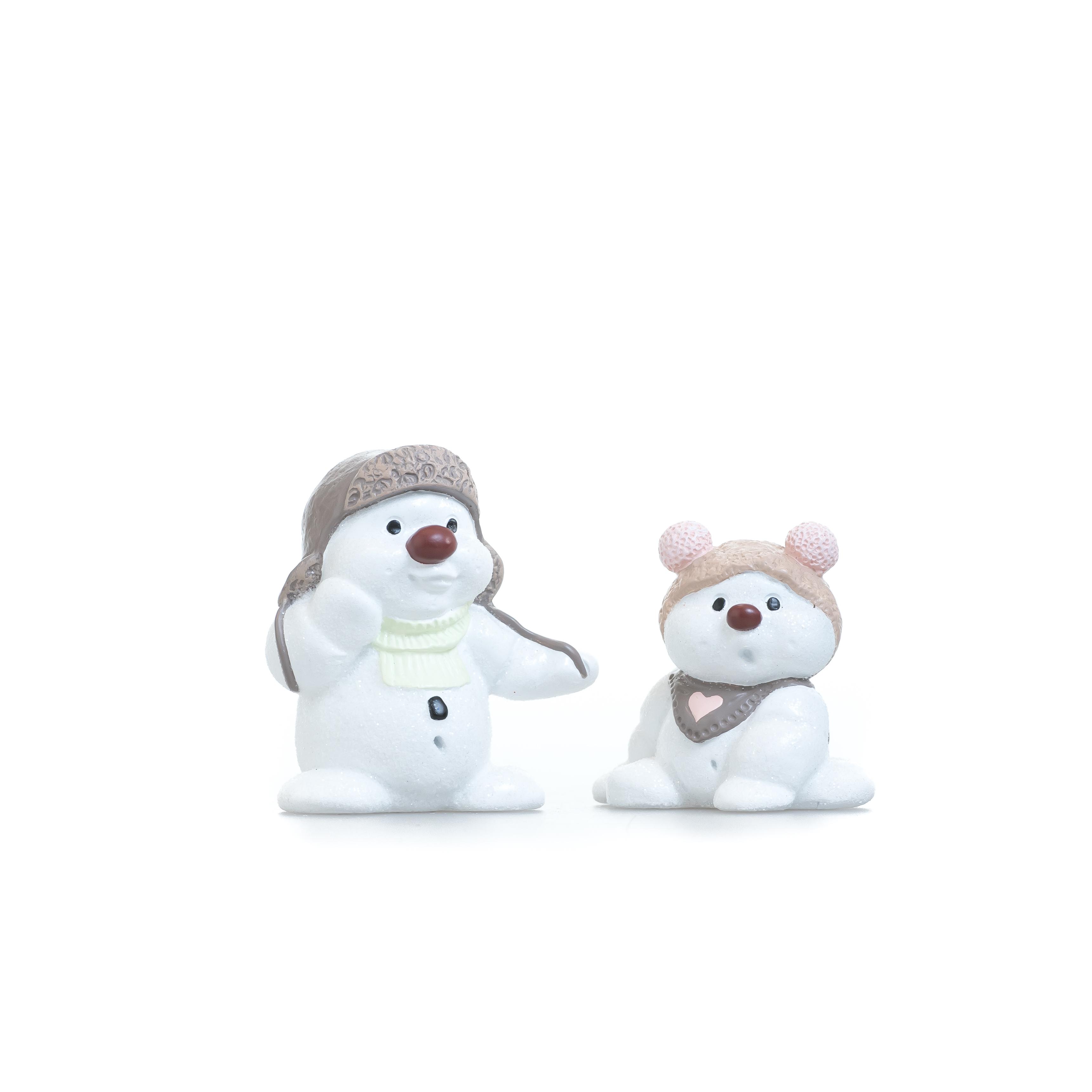 Klarborgnisser - Ejlif & Effi Snowmen 2016 (93093)