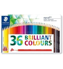 Staedtler - Coloured pencil ergosoft 36 pcs FSC 100% (157 M36)