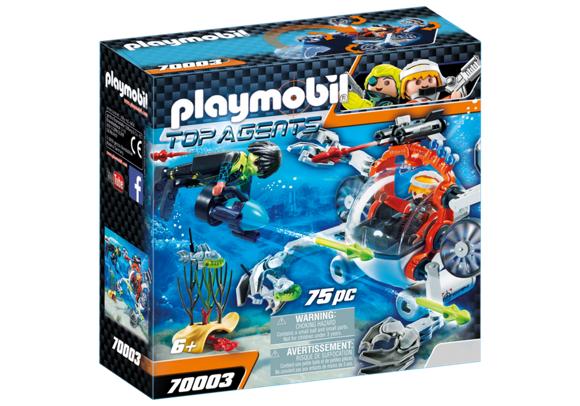 Playmobil - SPY TEAM Sub Boat (70003)