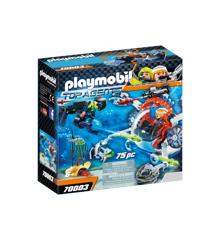 Playmobil - SPY TEAM Undervandsfartøj (70003)