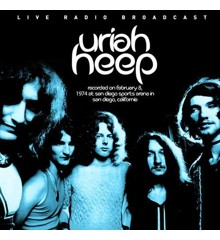 Uriah Heep - Best of King Biscuit Flower Hour Presents Uriah heep Recorded on February 8, 1974 at San Diego Sports Arena in San Diego, California - Vinyl
