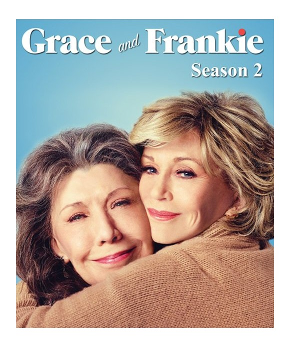 Grace and Frankie: Sæson 2 - DVD