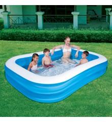 Bestway - Familie Pool 262x175x51 cm (890 liter)