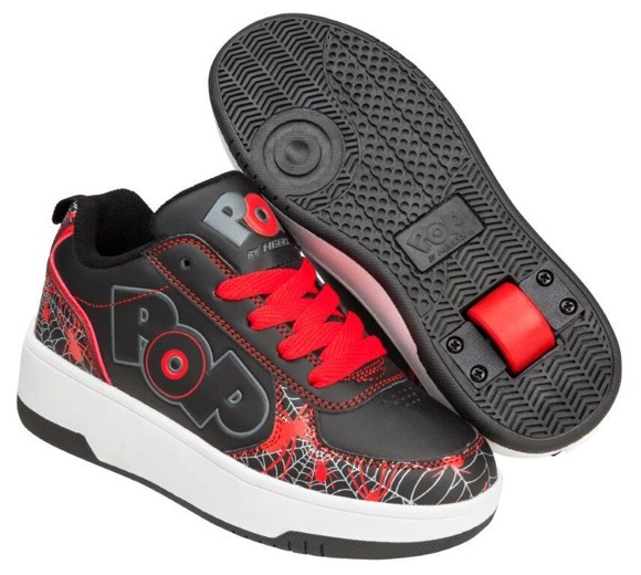 Heelys - Strike - Black/Red/Web Print - Size 33 (POP-B1W-0066)