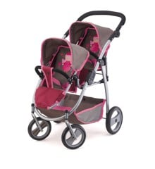 Bayer - Twin Pram - Grey (26578AA)
