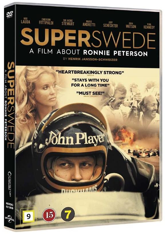 Superswede: En film om Ronnie Peterson - DVD