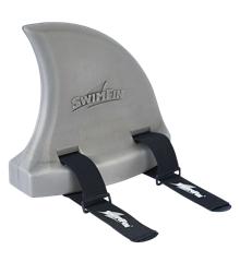 SwimFin - Lys varm grå - Svømmebælte til børn