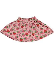 Småfolk - Skirt w. Strawberry Print