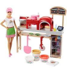 Barbie - Pizza Kok og Legesæt (FHR09)