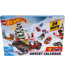Hot Wheels - Julekalender (FYN46)