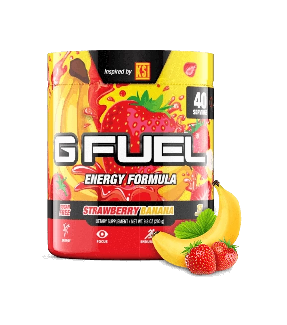 G Fuel - KSI  Strawberry Banana - 40 Servings