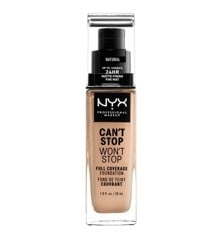 NYX Professional Makeup - Can't Stop Won't Stop Foundation - Natural