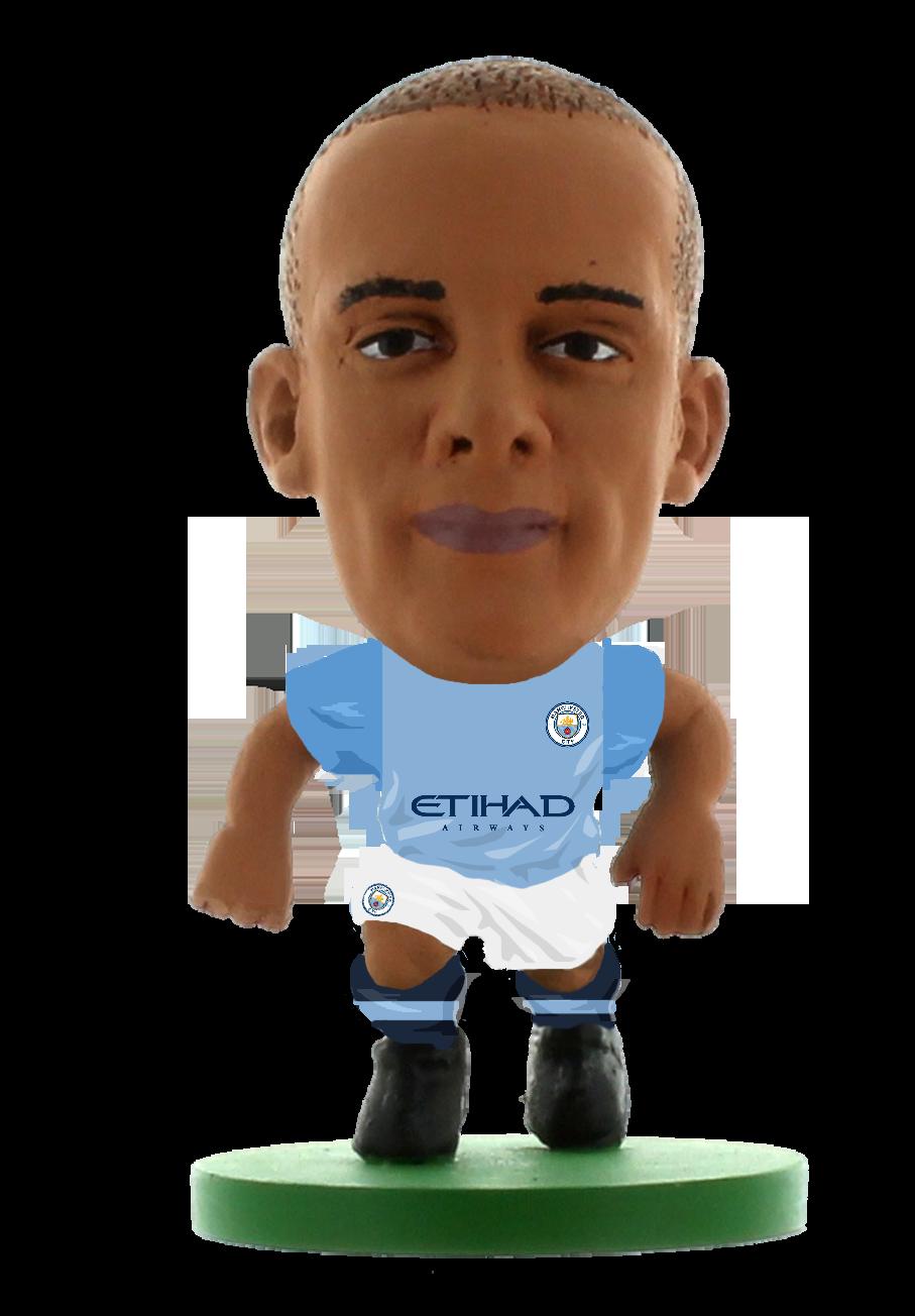 Soccerstarz - Manchester City Vincent Kompany - Home Kit (2019)