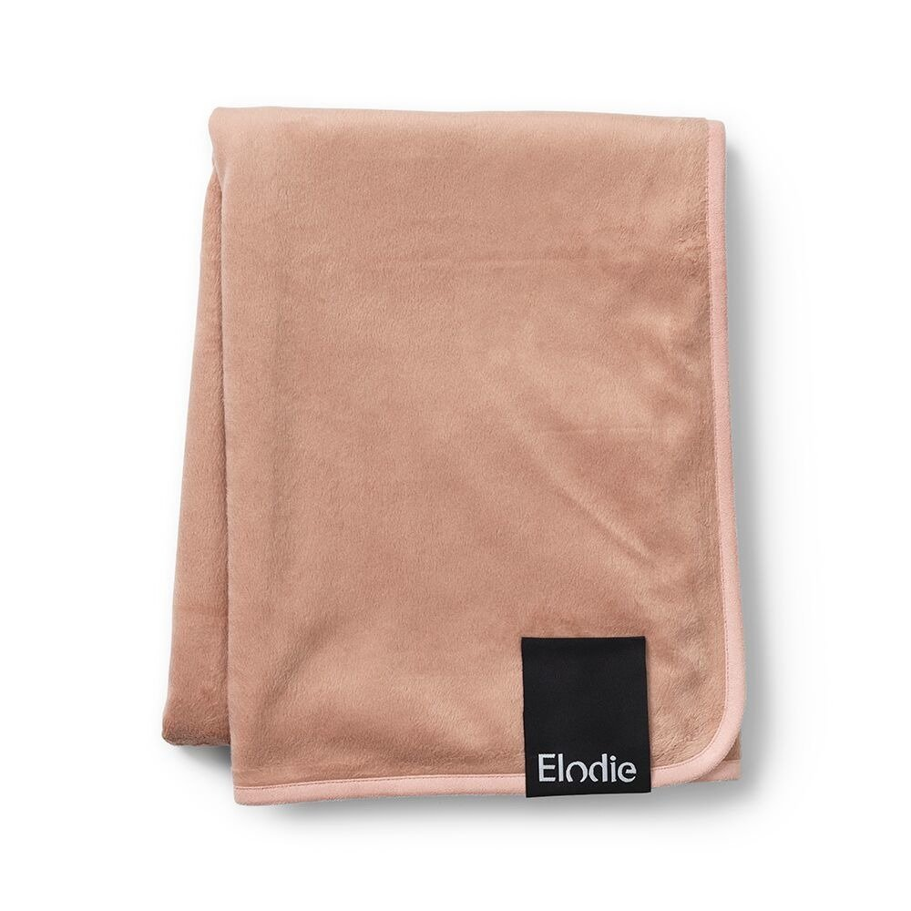 Elodie Details - Velvet Blanket - Faded Rose