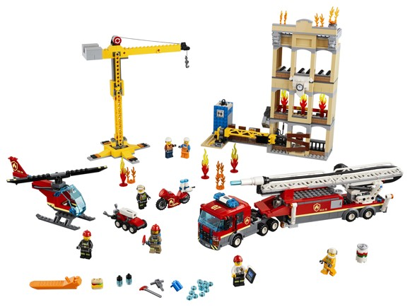 LEGO City - Midtbyens brandvæsen (60216)