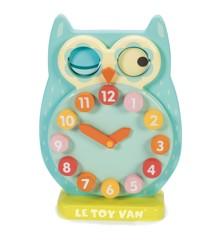 Le Toy Van - Petilou, Blinkende ugle ur (LPL010)