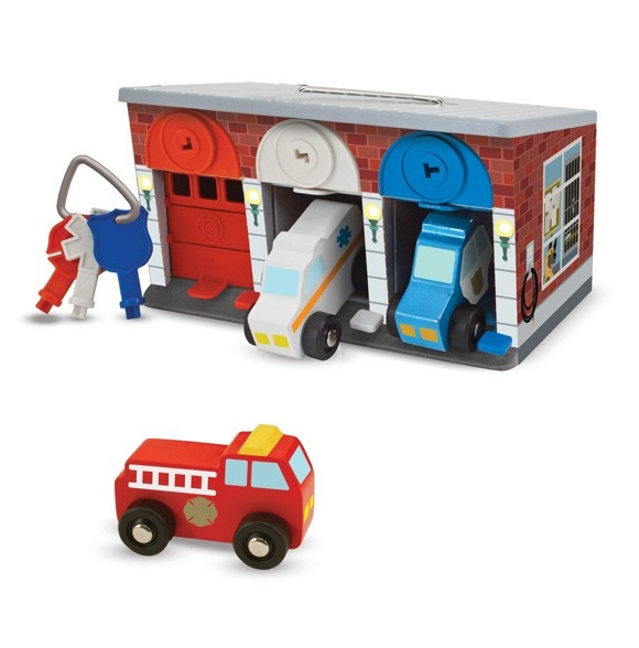 Melissa & Doug - Keys & Cars Rescue Garage (14607)