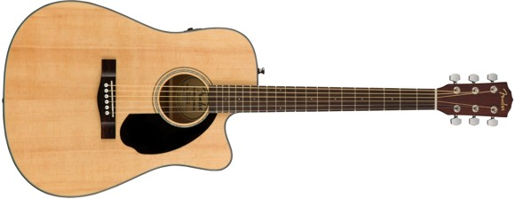 Fender - CD-60SCE - Acoustic Guitar (Natural)