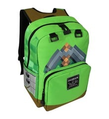 "Minecraft 17"" Pickaxe Adventure Backpack"