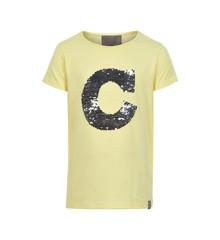 Creamie - T-Shirt m. Pailetter