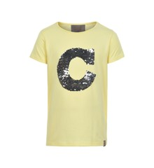 Creamie - T-Shirt w. Sequins