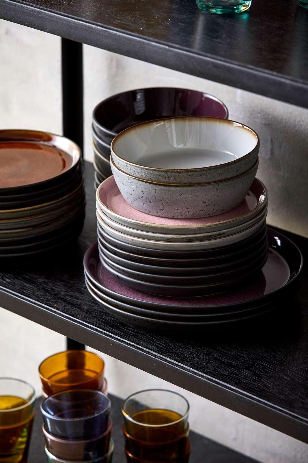 Kaufe Bitz Gastro Plate 21 Cm Grey Light Pink 821407 Grey Light Pink Inkl Versand