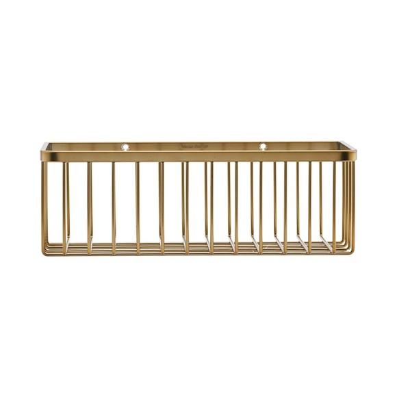 House Doctor Bath Basket Small - Brass (WG0320)