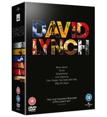 David Lynch - Blue Velvet/Dune/Eraserhead/Lost Highway/Wild at heart/Twin Peaks: Fire Walk with me - DVD