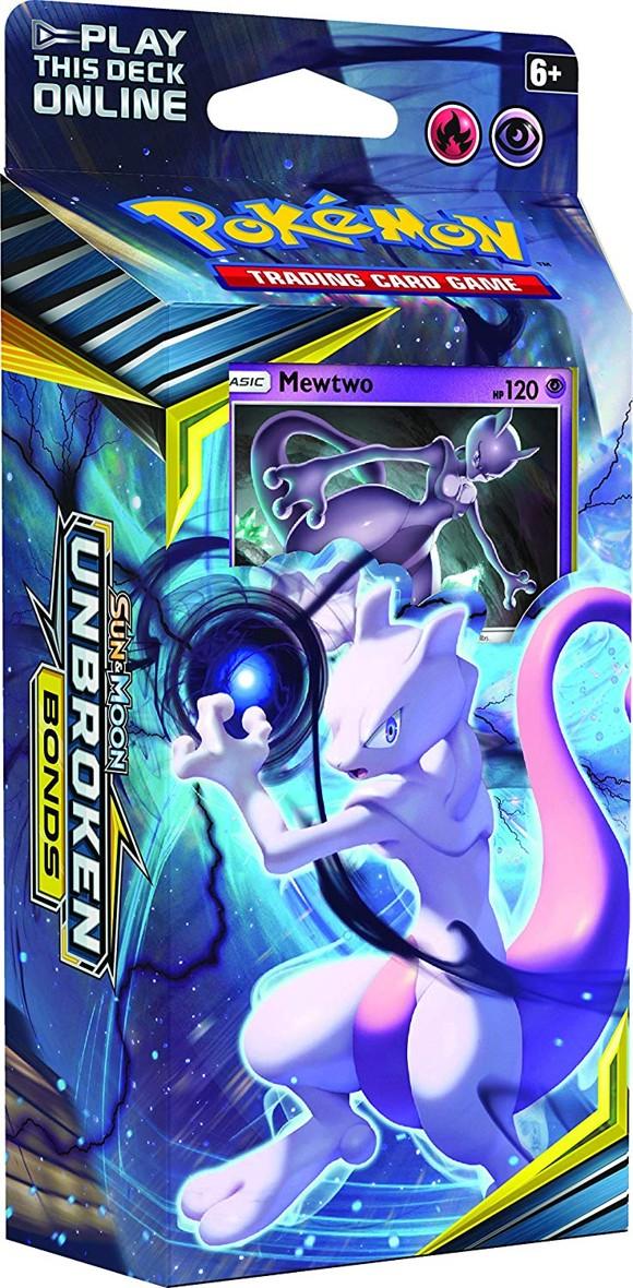Pokémon - Sun & Moon 10 - Unbroken Bonds Themepack - Mewtwo (POK80554)