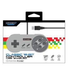 Retro-Bit Classic 16-Bit Cont. USB