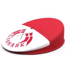 Danmark Sixpence Hat - Voksen (1 stk)