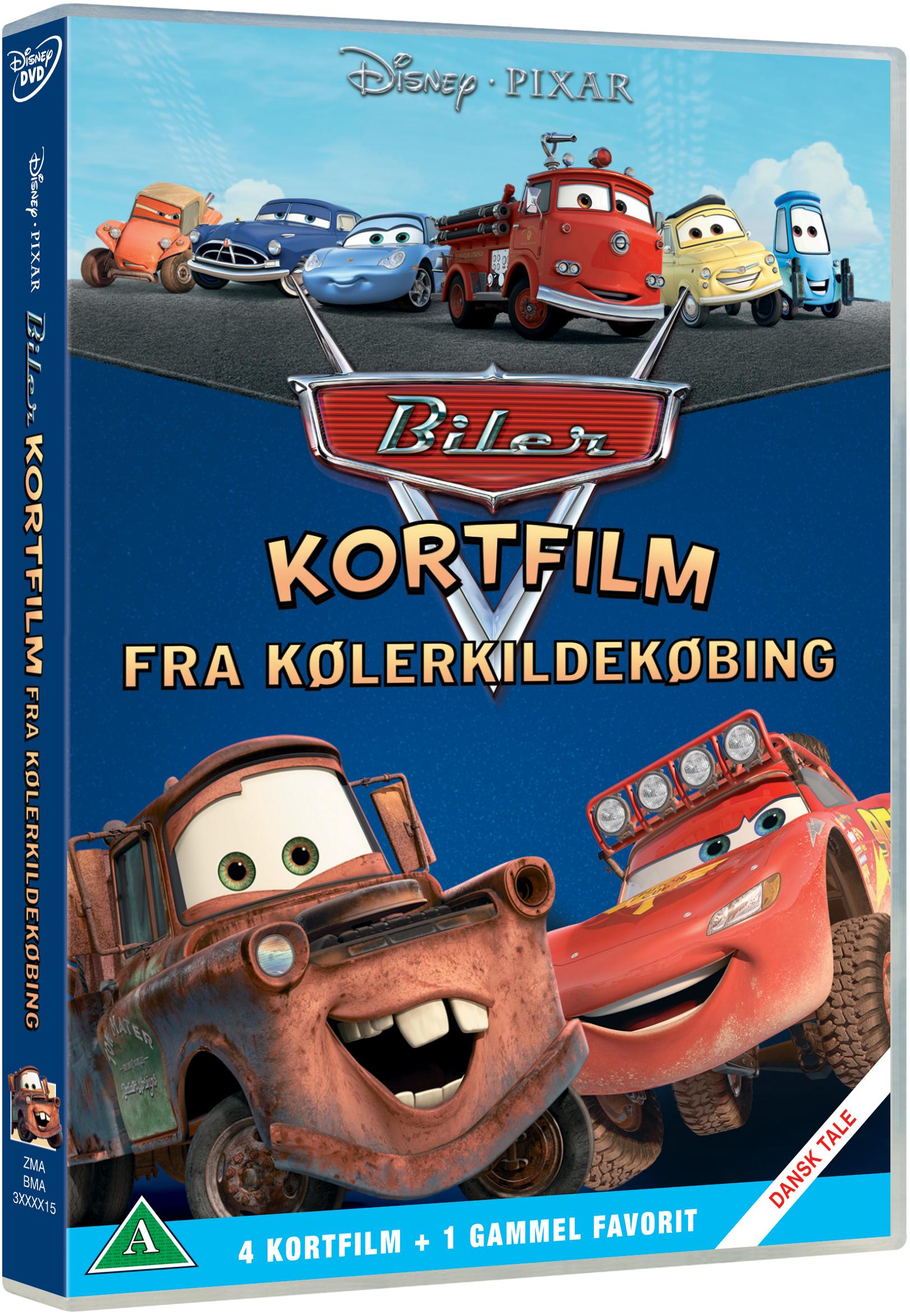 Buy Disneys Cars Shorts Radiator Spring Kolerkildekobing Dvd