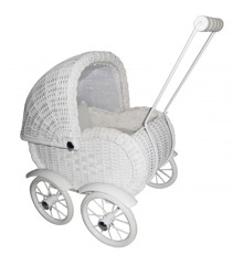 Magni - Doll Pram - Small, White (2427)