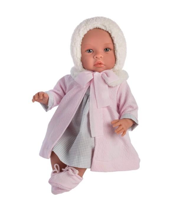 Asi dukker - Leonora dukke i vakker vinterjakke, 46 cm