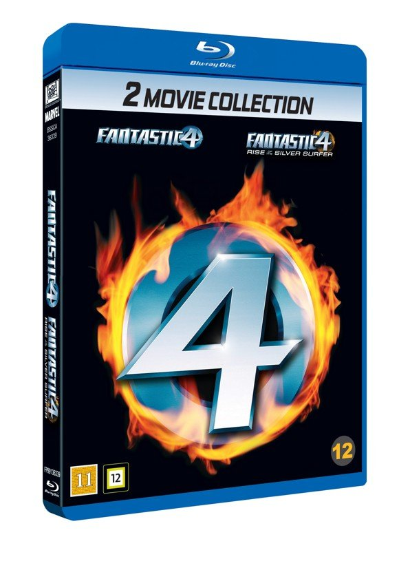 Fantastic Four 1 and 2 Boxset (Blu-Ray)