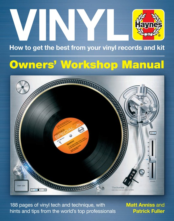 Vinyl - How to get the best from your vinyl records and kit Owner's Workshop Manual - Book